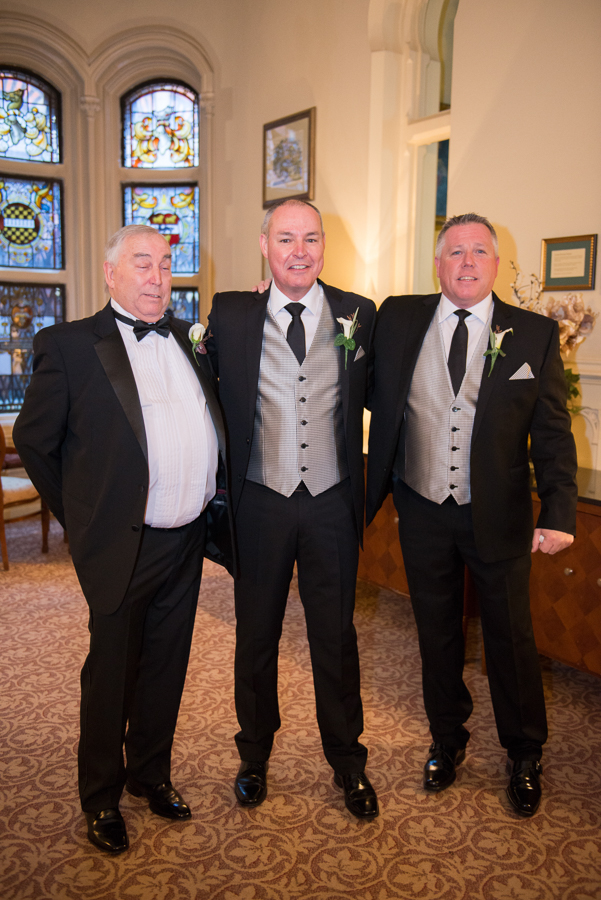 Grooms with best man