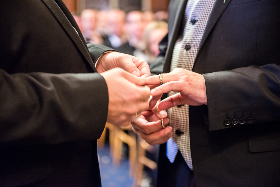 civil partnership services exchange of the rings