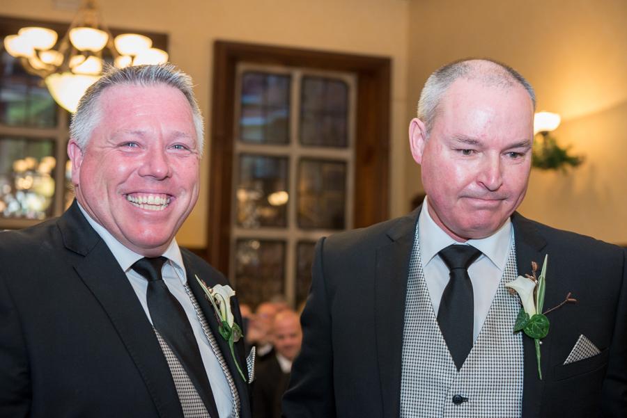 laughing weddings