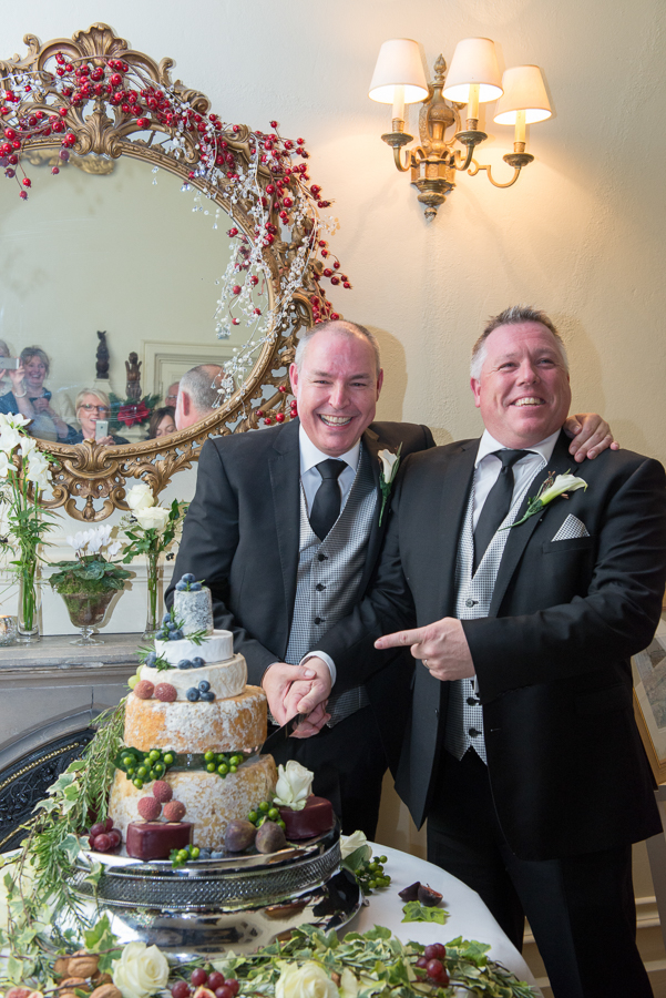 Cheese cake wedding