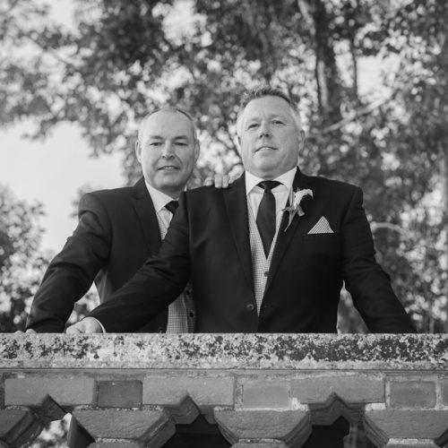 Civil partnership portraits