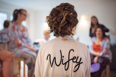 Wifey dressing gown