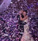 Polhawn fort Confetti first dance