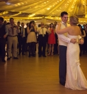 First dance in a marque in cornwall