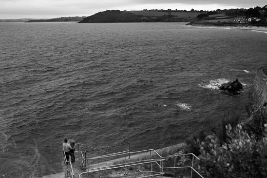 Castle beach engagement pre wedding picutres