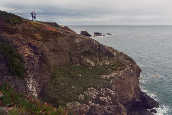 The lizard point engagement shoot