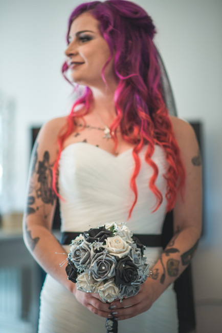 Bride red hair