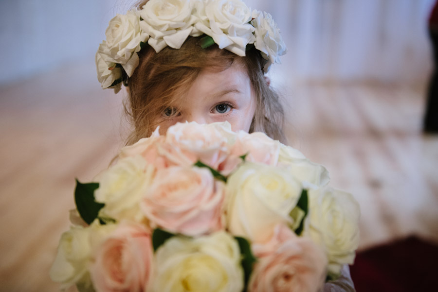 cute flower girl cornwall
