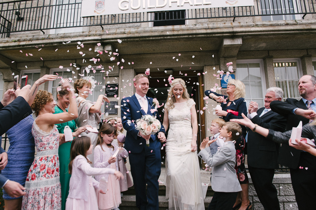 St Ives Guildhall wedding