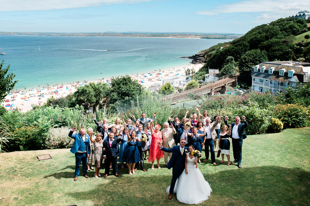 Harbour Hotel st ives wedding porthminster