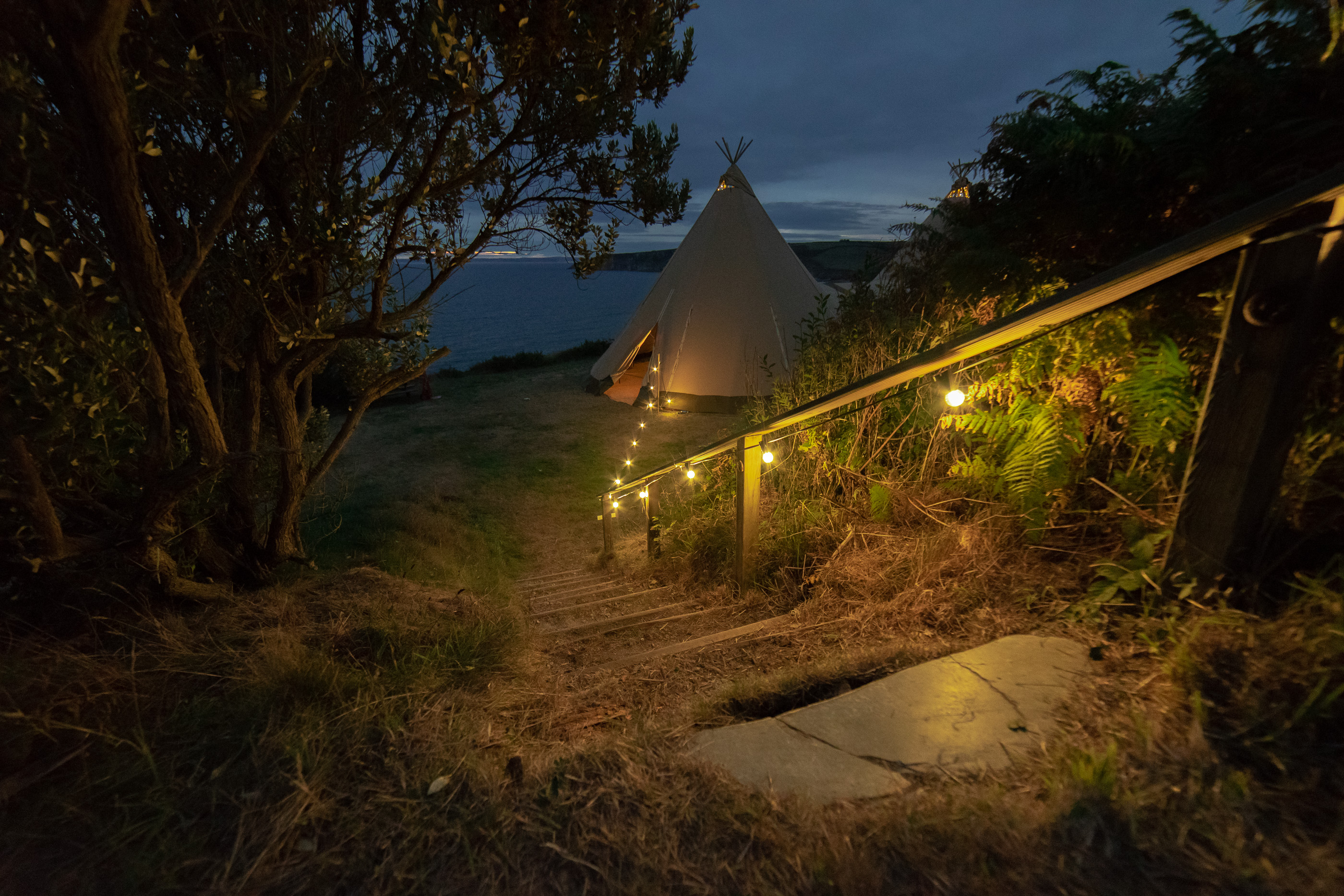 tipi wedding and marquee