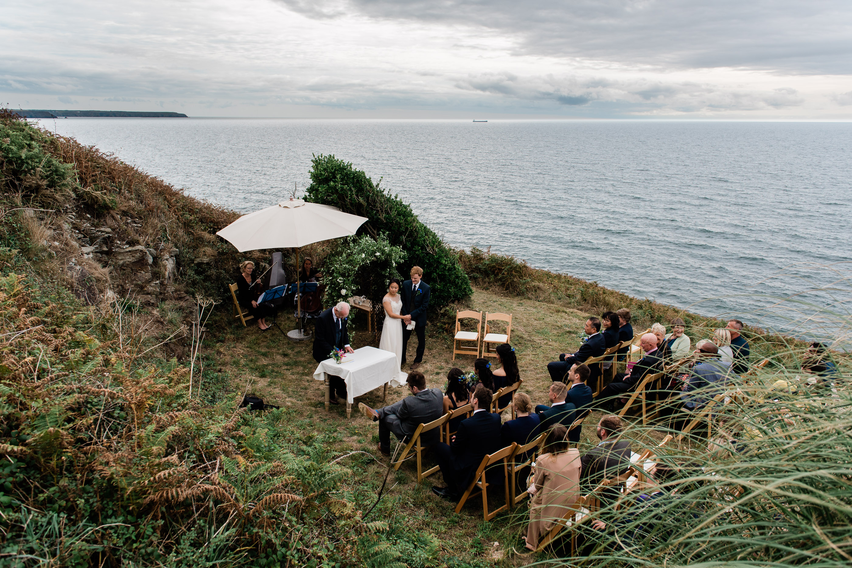 beacon crag helston wedding