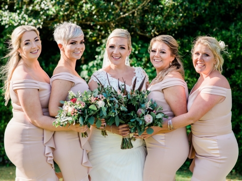 Carlyon Bay bridesmaids
